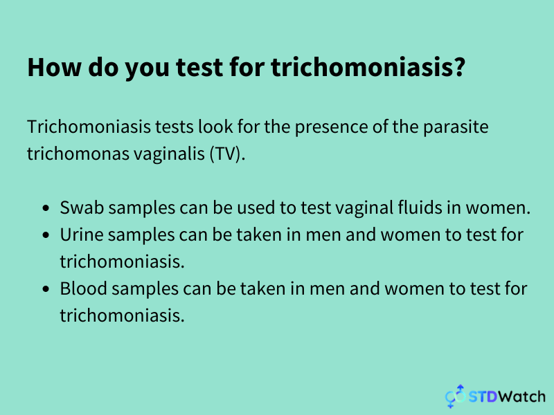 how-do-you-test-for-trichomoniasis-infographic